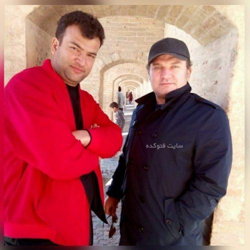 عکس مهدی سلطانی سروستانی و برادرش