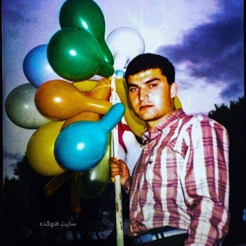 عکس مهدی سلطانی در سربازی دهه هفتاد