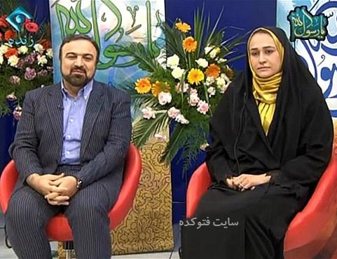 عکس مرتضی حیدری و همسرش زهره کاظمی + بیوگرافی
