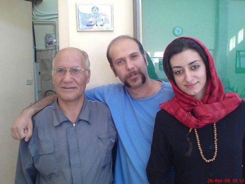 محمد بحرانی و همسرش درکنار همکارشون