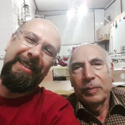 عکس محمد بحرانی و پدرش
