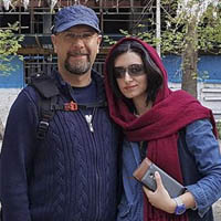محمد بحرانی و همسرش مهناز خطیبی + بیوگرافی کامل