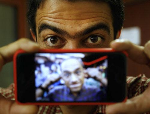عکس محمود کریمی خندوانه