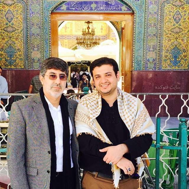 عکس های محمدرضا طاهری مداح و علی اکبر رائفی پور