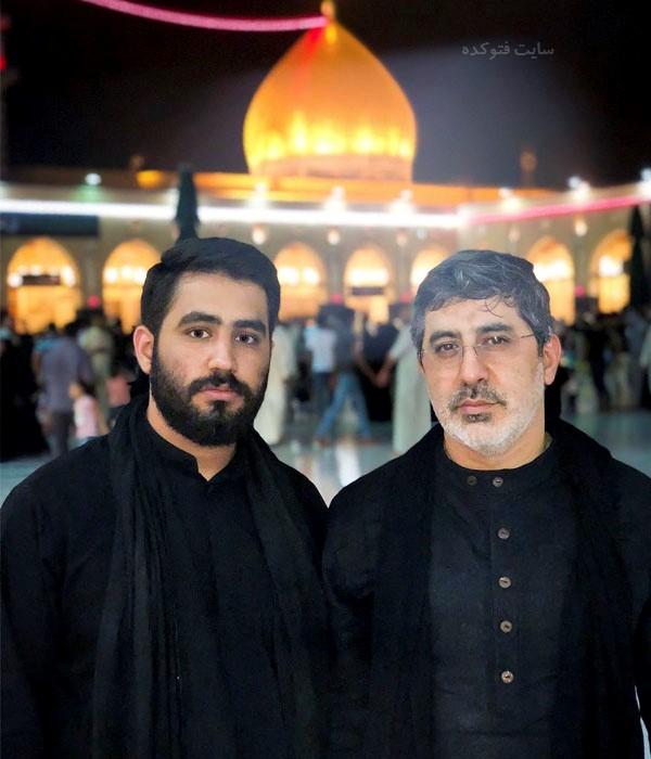 محمدرضا طاهری مداح و پسرش حسین + بیوگرافی کامل