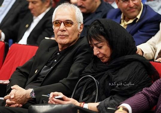 عکس محمود کلاری و همسرش + بیوگرافی
