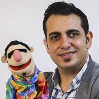 بیوگرافی محمد لقمانیان و لقمه شو + همسرش و زندگی عروسکی