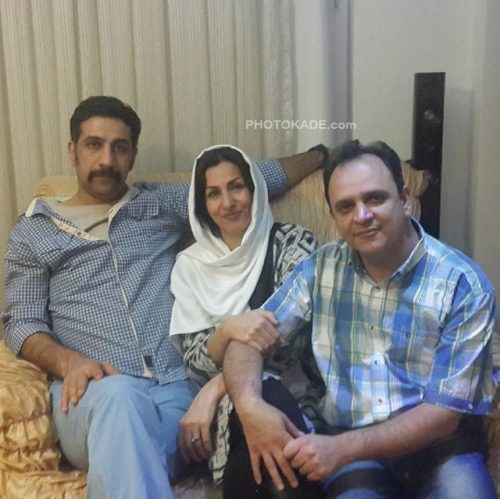 عکس محمد نادری در کنار خواهرش و شوهر خواهرش + بیوگرافی کامل