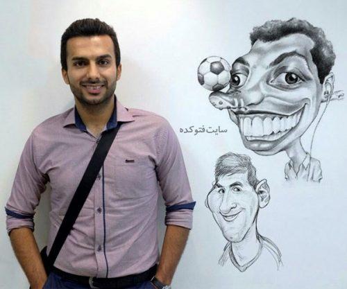 عکس محمدحسین میثاقی مجری و گزارشگر + بیوگرافی