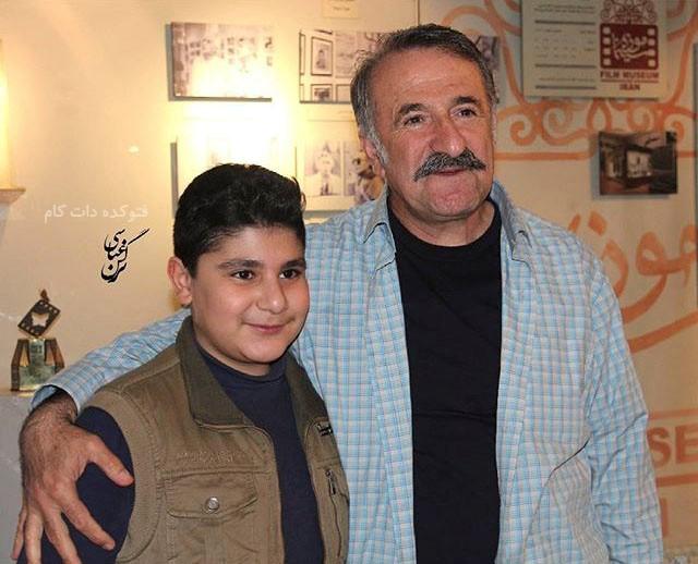 مهران رجبی و پسرش علیرضا