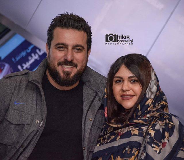 عکس و بیوگرافی محسن کیایی و همسرش