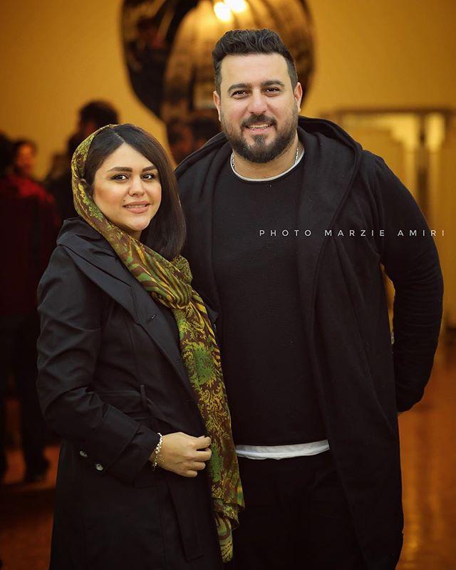 عکس محسن کیایی و همسرش سهیلا امیرحسینی + بیوگرافی