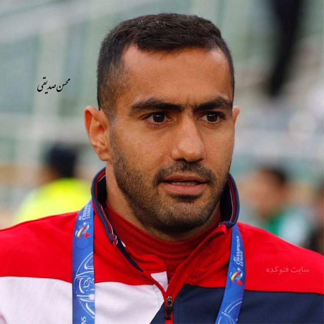عکس های محسن ربیع خواه بازیکن فوتبال + بیوگرافی کامل