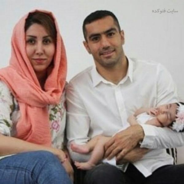 عکس محسن ربیع خواه و همسرش + بیوگرافی