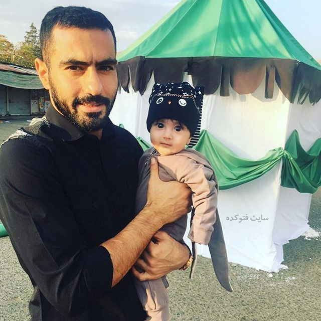 عکس بیوگرافی محسن ربیع خواه و دخترش یلدا