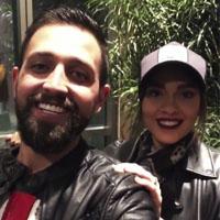 محسن افشانی و همسرش در کنسرت حسین تهی