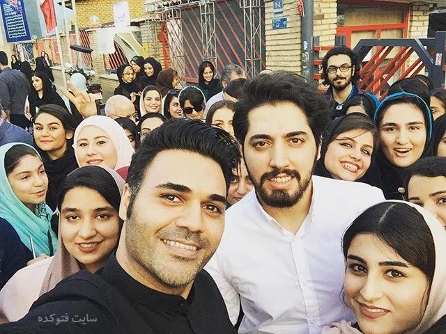 عکس میلاد بابایی و پوریا حیدری + بیوگرافی