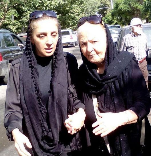 مینا جعفرزاده و دخترش سولماز + بیوگرافی کامل