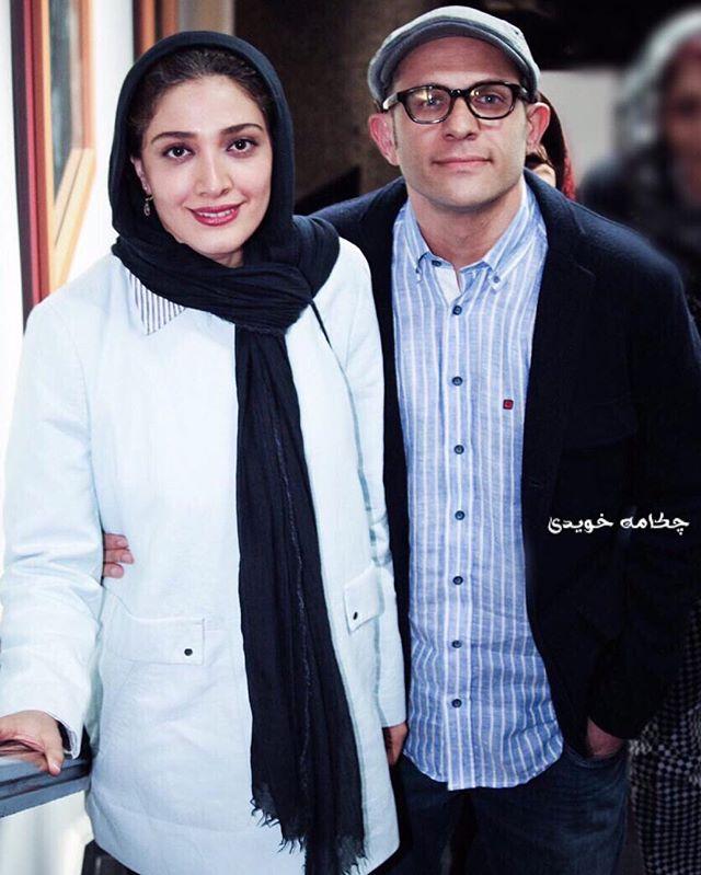 عکس بابک حمیدیان و همسرش مینا ساداتی + بیوگرافی کامل