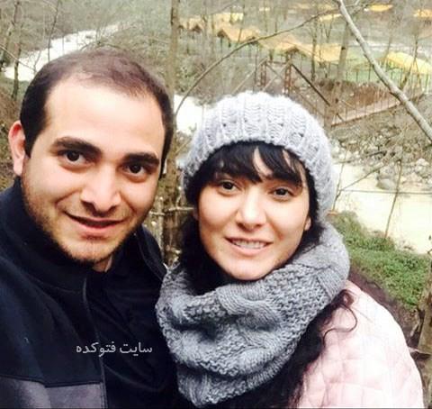 مینا وحید و برادرش میلاد + عکس خانوادگی