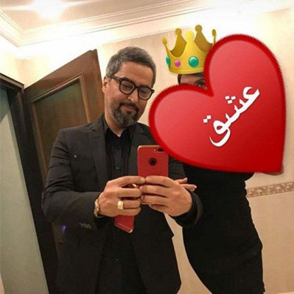 عکس مهرداد میناوند و همسرش شبنم کمانگر