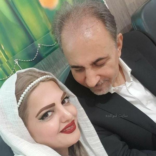 عکس میترا نجفی همسر دوم محمد علی نجفی