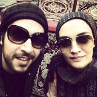 بیوگرافی میترا حجار و همسرش