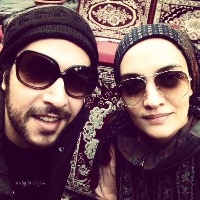 عکس میترا حجار و همسرش سینا حجازی
