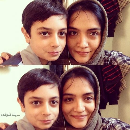 عکس میترا حجار و پسرش علیرضا (کسری) + بیوگرافی