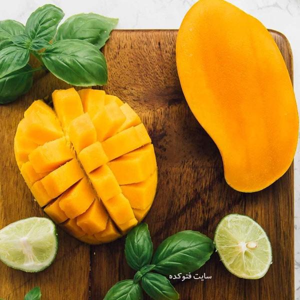 انبه از جمله میوه هایی که برای افزایش وزن است