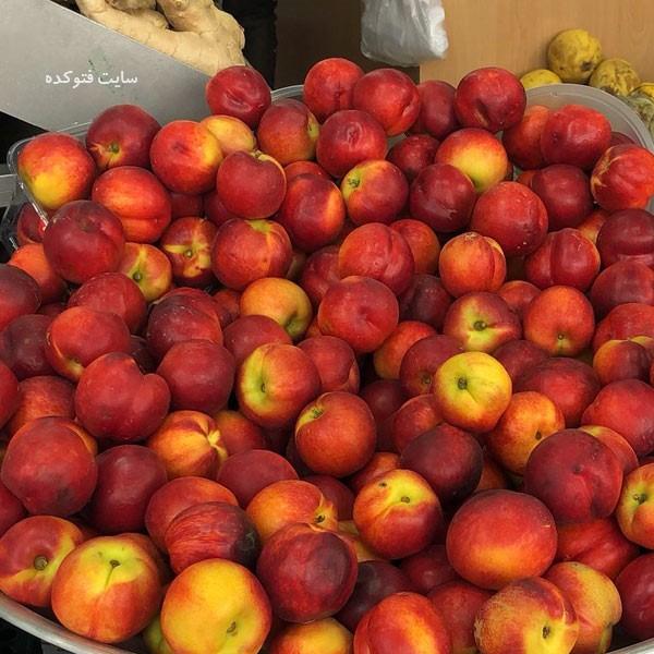 شلیل از جمله چاق کننده ترین میوه ها برای بصورت و بدن