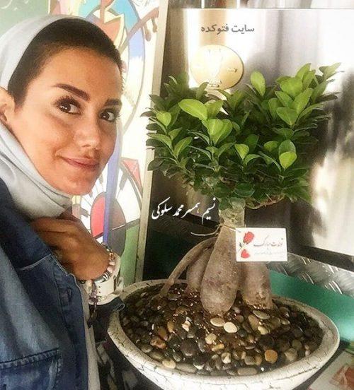عکس نسیم همسر محمد سلوکی + کافه موسوفر و زندگینامه