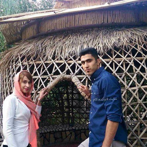 عکس مجتبی میرزاجانپور و همسرش نیلوفر ابراهیمی + بیوگرافی کامل