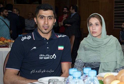 عکس و بیوگرافی مجتبی میرزاجانپور و همسرش نیلوفر ابراهیمی