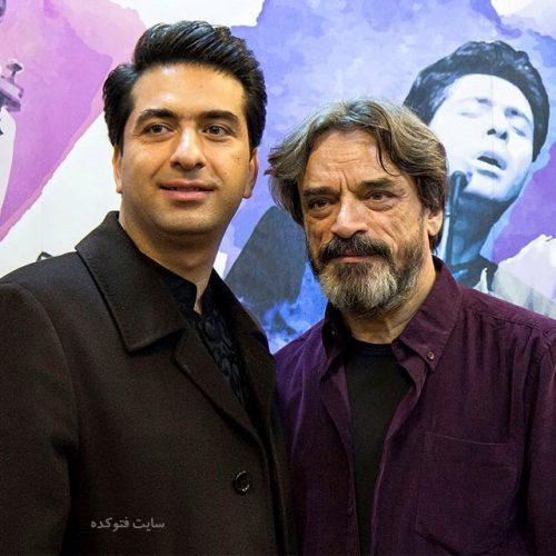عکس محمد معتمدی و استاد حسین علیزاده + بیوگرافی کامل