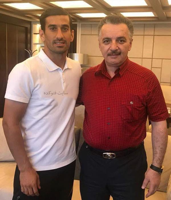 محمدرضا زنوزی مالک باشگاه تراکتورسازی
