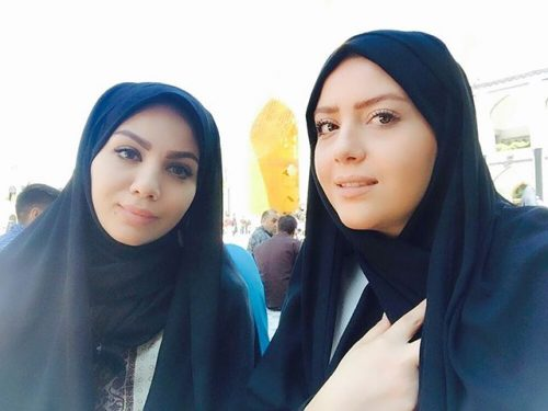 عکس مبینا نصیری و خواهرش