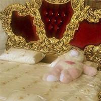 مدل تخت خواب دونفره سلطنتی