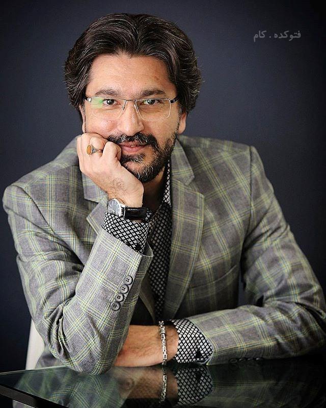 بیوگرافی امیرحسین مدرس بازیگر و مجری + زندگی شحصی