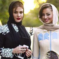 تیپ بازیگران زن در جشنواره حافظ 95