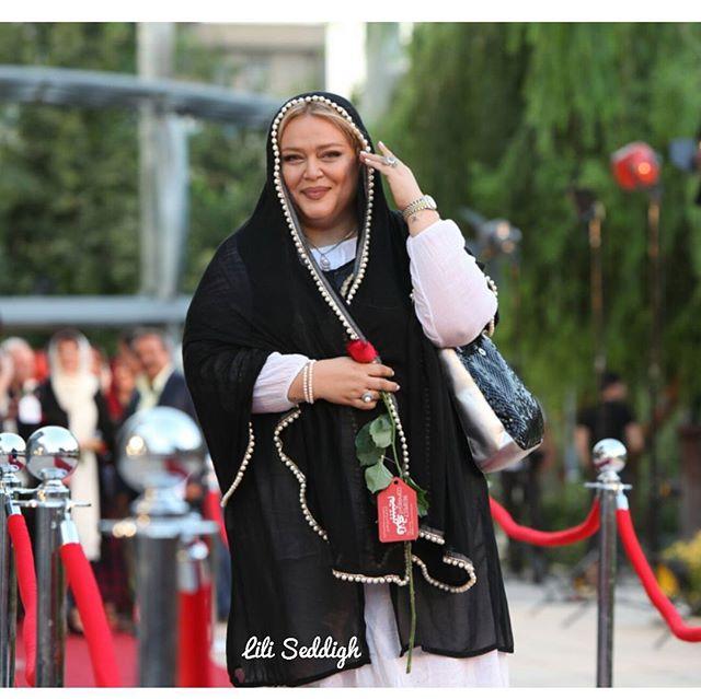 کس مدل لباس بهاره رهنما در جشنواره حافظ 95