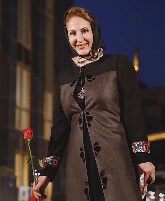 عکس مدل لباس فاطمه گودری در جشنواره حافظ 95