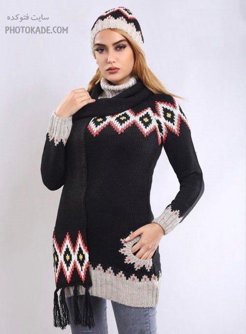 مدل لباس بافت زنانه و دخترانه 2017 - 1396 ایرانی