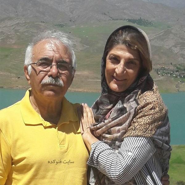 محمد علی بهمنی و همسرش با بیوگرافی کامل