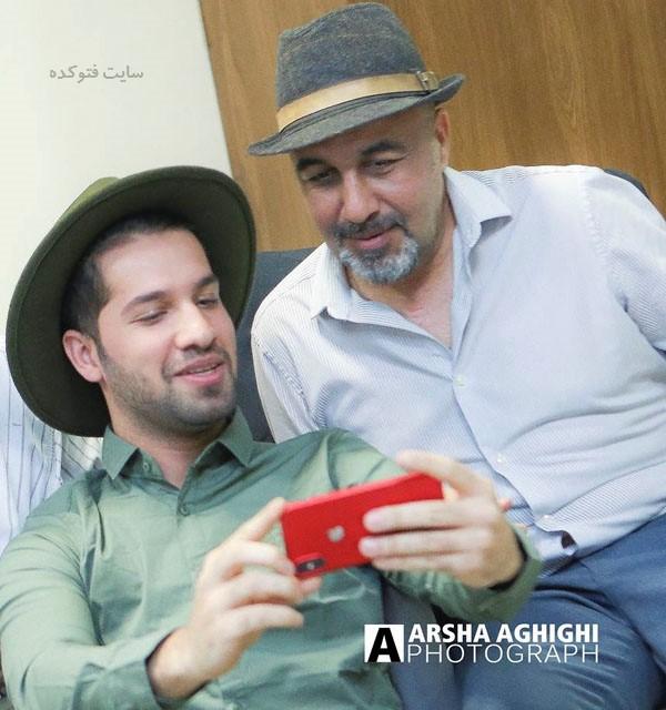 عکسمحمد امین کریم پور و رضا عطاران + بیوگرافی