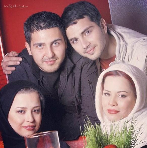 عکس دوست و برادر و خواهر های محمدرضا غفاری