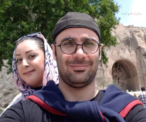 عکس های محمد هادی عطایی و همسرش زهره فضلی