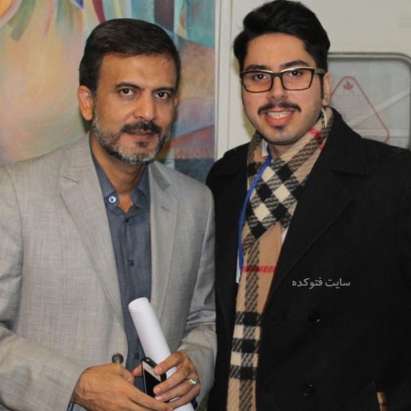 محمدرضا شهیدی فرد و همکارش