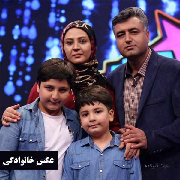 عکس های محمدرضا شیرخانلو در کنار پدر و مادر و برادرش