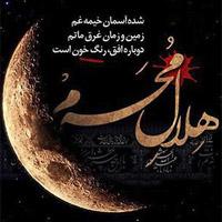 عکس نوشته محرم نزدیکه برای پروفایل + متن پیشواز محرم